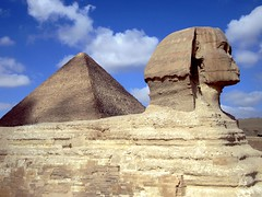 Sphinx (D-Stanley) Tags: africa day cloudy egypt cairo pyramids giza