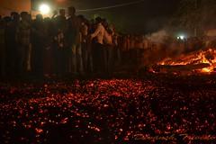 1 (devansh28290) Tags: fire holi gandhinagar gujarat firewalk blindfaith palaj