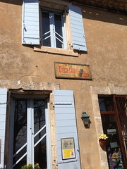 Gordes (GiftedHand) Tags: travel holiday france streets architecture landscape doors market restaurants shutters shops provence roussillon southoffrance ocres