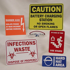 Safety Signs - Caution