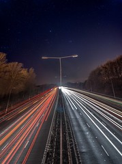 Stars and Stripes (Raven Photography by Jenna Goodwin) Tags: longexposure light england night stars photography motorway pano trails panoramic staffordshire stoke keele vertorama noctography Astrometrydotnet:status=solved Astrometrydotnet:version=14400 Astrometrydotnet:id=alpha20130499218160