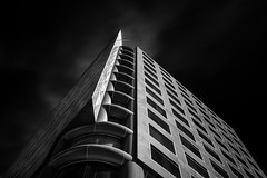 There Is (StefanB) Tags: california bw monochrome architecture sanjose geotag 2013 em5 heritagebank 1235mm flvonmirikr