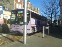 VR Travel T529 EUB (Woolfie Hills) Tags: travel swansea wales volvo south arnold replacement rail vr aberfan plaxton eub exwallace t529