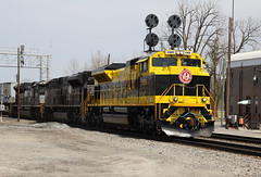 Norfolk Southern Virginian Heritage Unit SD70ACe 1069 (capsfan1222) Tags: railroad train canon diesel sigma locomotive norfolksouthern virginian marionohio electromotive sd70ace sigma1750 heritageunit canoneos60d norfolksouthernheritageunit virginianheritageunit