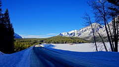 Lake Minnewanka Loop, Banff National Park (j.canada) Tags: travel canada zeiss landscape frozen view ab alberta carl translucent rockymountain banff alpha za f28 geographic nationalgeographic banffnationalpark lakeminnewanka 2470mm variosonnar 2013 a99 canadianrockymountain sal2470z zeiss2470f28 variosonnart28222470