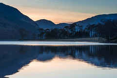 "Sunset at Buttermere • <a style=""font-size:0.8em;"" href=""https://www.flickr.com/photos/21540187@N07/8638756090/"" target=""_blank"">View on Flickr</a>"