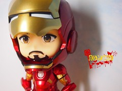 My Nendoroid Iron Man Mark 7 (kyanko2003) Tags: man smile iron good tony stark nendoroid