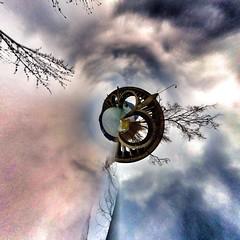 Bridge #tinyplanet (Howard TJ) Tags: smart phone howard cellphone cell smartphone tiny planet stitched app merged iphone tpa tinyplanet tinyplanets iphone4 authostitch howardtj43147 howardtj snapseef uploaded:by=flickrmobile flickriosapp:filter=nofilter httphowardtjblogspotcom httphtjitsjustaboutme