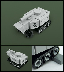 M28-Pig (Red Spacecat) Tags: pig tank lego suspension military armor micro marines apc halftrack moc microscale redspacecat