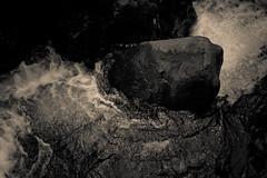 Tumult (subterraneancarsickblues) Tags: blackandwhite bw water canon waterfall rocks lakedistrict cumbria airaforce sigma18250mm eos550d rebelt2i kissx4digital