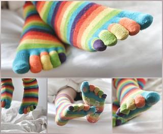 Bed socks ( 105/365 2013)