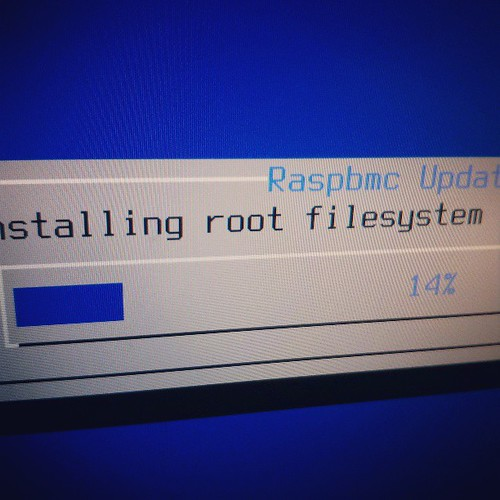 Go Raspbmc! #computer #installer #raspberrypi #progress