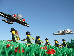 Battle of the Netherlands (Rebla) Tags: netherlands toy outside lego wwii 1940 may battle ww2 fp forcedperspective