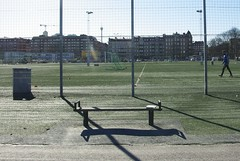 At the Bookcrossing Convention in Gothenburg. (zimort) Tags: park bench book bookcrossing sweden release bok sverige gjerde fotball benk bookcrossingcom gteborg releases slipp fotballfield fotballbane bookcossing bcslipp bookcrossnig bccon2013
