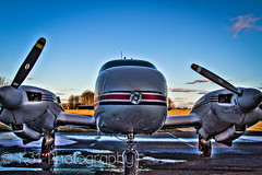 Plane (K31 Photography) Tags: plane airplane airport michigan engine hdr twinengine ionia k31 k31photography