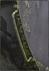 Tank Car Handle (NoJuan) Tags: handle moss mossy
