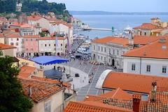 Piran (2) / Eslovenia / Slovenia (Ull mgic) Tags: piran istria eslovenia slovenia adriatic adritico mar aigua plaa plaza nucliantic port fuji xt1