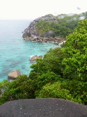 Similan Island, Thailand (Jan-2016) 20-013 (MistyTree Adventures) Tags: seasia thailand outdoor mukosimilannp panasoniclumix similanisland forest shore ocean trees rocks