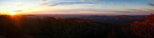 Pano at Blood Mountain