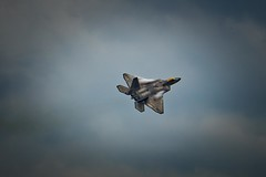 Raw power (Notkalvin) Tags: thunderovermichigan plane jet f22 raptor fighter notkalvin mikekline notkalvinphotography airshow speed fun