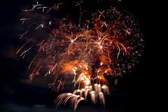 Summer of colorful fireworks #5 (yamabuki***) Tags: dsc7609  fireworks