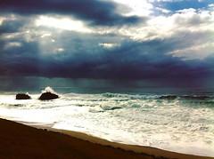 Biarritz (mrjcrr) Tags: biarritz mer sea plage beach ocean vue landscape paysage horizon wave vague sudouest paysbasque france