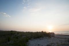 (gwoolston) Tags: sunrise ocean dunes jerseyshore stoneharbor sand water