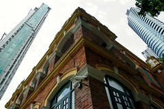 New and old ..  through the eyes (C. Alice) Tags: summer architecture building 2016 ilce6000 sony a6000 sonya6000 sonysel1670zcarlzeissvariotessart tessar zeiss carlzeiss hongkong asia windows arch favorites30