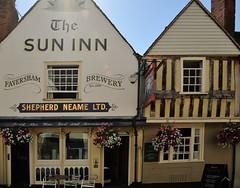 The Sun Inn Faversham (Chrissie L - doesn't do Photoshop) Tags: nikond700 faversham kent gb capturenx2