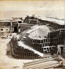 1865 - Interior of Fort Sumpter [Sumter], showing gabions and bomb-proofs (lasertrimman) Tags: interioroffortsumptersumter showinggabionsandbombproofs interior fort sumpter sumter showing gabions bombproofs 1865 fortsumpter