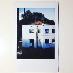 Leeds side streets (franhinchliffe) Tags: architecture buildings instaxmini90 fujifilminstaxmini90 fujifilminstax fujifilm polaroids polaroid analogue filmphotography photography film