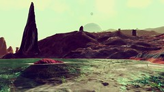No man's sky (Yoggsothoth) Tags: astronomie space sf science stars star sun spaceship sky sciencefiction ship espace toile toiles tioles reshade starship galaxy galaxie nbuleuse neurula moon mars