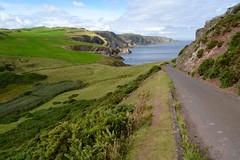 St Abbs Head (heathernewman) Tags: naturereserve nationalnaturereserve landscape berwickshire coastal coast green blue sky ocean countryside scottishborders scotland fields outdoor outside clouds