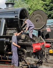 Disposal (LMSlad) Tags: great central railway loughborough