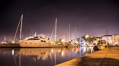 Boat (LibanoGraphie) Tags: molo boat boats night wideangle angle sony sonynex7 nex7 samyang12mm samyang 12mm notte barca nettuno neptune stars star