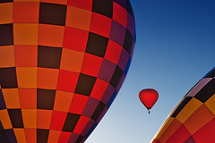 Ballooning (GER.LA - PHOTO WORKS) Tags: ballooning usa albuquerque newmexico red