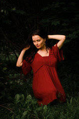 DSC_5009 (Altvod) Tags: portrait girl    nature  botanicalgarden people
