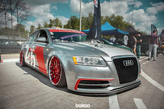 Marco's Air6 C6 (bakao) Tags: stance air ride big wheels lowered slammed low audi s rs simple clean marcos air6 c6 silver