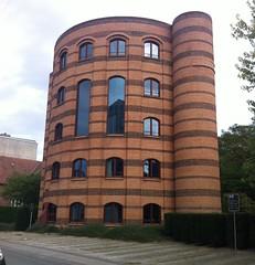 Frederiksberg -  Bibliotekarernes Hus (1990) (annindk) Tags: libraries frederiksberg pomo
