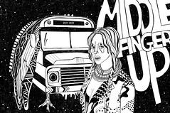 mfUP (Orscotch) Tags: beyonce illustration blakandwhite art music