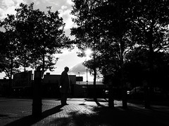 DSCF4563 (Neil Johansson LRPS) Tags: fuji fujifilm x30 fujifilmx30 black white blackandwhite bw monochrome noir filmnoir cinematic silhouette shadows light dark urban urbanphotography streetphotography photo photograph photography figure wolverhampton westmidlands england uk midlands digital landscape