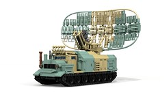 SN-56 (ABS doohickies) Tags: lego ldd transnistria povray render dc6 radar tracked vehicle