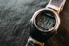 Clock (arozetsky) Tags: clock wrist watch casio macro