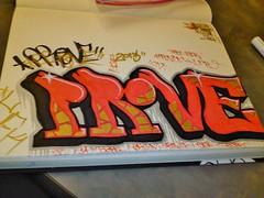 PROVE LFK (NW Graffiti) Tags: art graffiti paint 14 marker pdx graff piece bomb xiv blackbook lfk prove