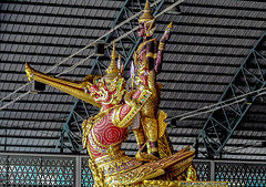 The Nari Song Suban Barge (Butch Osborne) Tags: city trip travel sea beautiful museum thailand lumix boat amazing interesting ancient colorful asia southeastasia fotografie native bangkok awesome culture royal historic adventure journey transportation historical unusual traveling barge antiquity mustsee digitalefotografie panasoniclumixdmcfz50 bucketlist