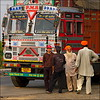 Lorry and lorry drivers (livia.com) Tags: india camion punjab colori truch