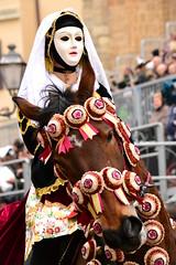 DSC_0230 (Valeria Castellino) Tags: sardegna italy horse costume italia sardinia dress parade procession cavallo traditionaldress cavaliere sfilata oristano sartiglia vestito horsewoman amazzone componidori finimenti costumetradizionalesardo costumetradizionale gremiofalegnami bardatura
