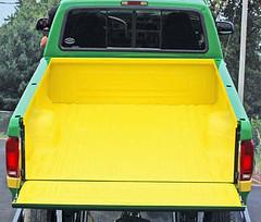custom john deere yellow liner