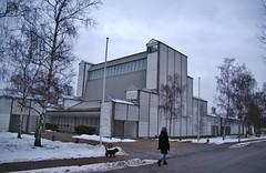 Bagsvrd church (osto) Tags: dog pet animal denmark europa europe sony terrier zealand dslr scandinavia danmark cairnterrier a300 sjlland  osto alpha300 osto february2013