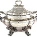 2063. Antique Silverplate Soup Tureen